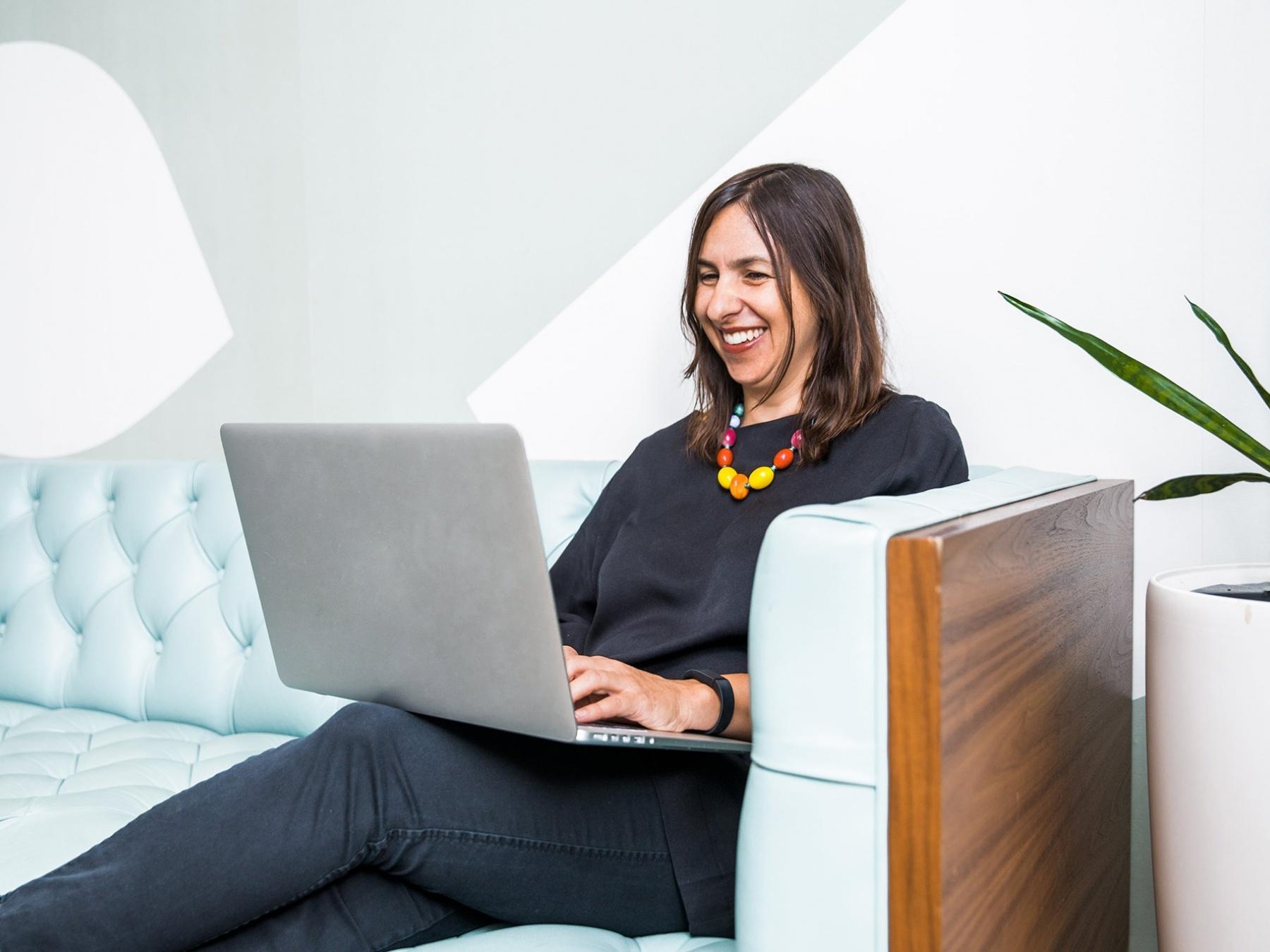 Modern woman in office 1